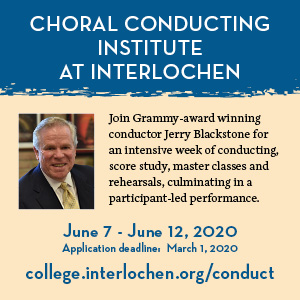 Choral Conducting Institute At Interlochen